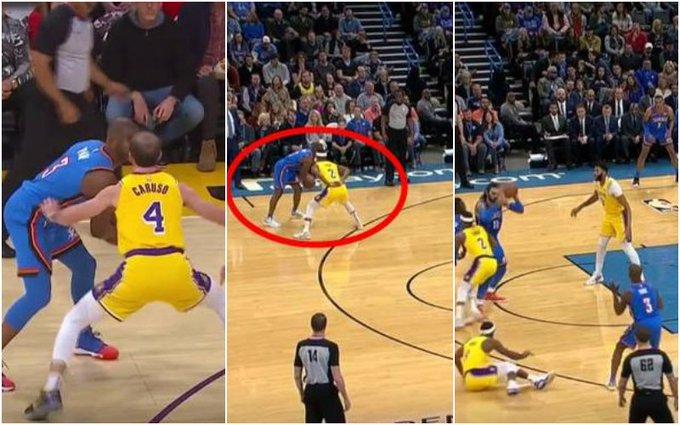 【影片】Caruso被保羅戲耍後,看看Rondo和Cook防保羅的方式!Cook學詹姆斯但Rondo仍無懼!-籃球圈