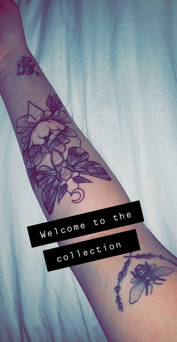 Tattoo over self harm scars
