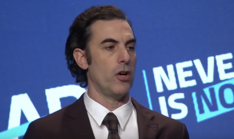 """""""On the internet,everything can appear equally legitimate.  .. rantings of a lunatic seem as credible as the findings of a #NobelPrize winner. We have lost a shared sense of.. basic #facts ... #SachaBaronCohen via @openculture    #TwitterWorld #Saturday pic.twitter.com/CKQWPONRFP"""