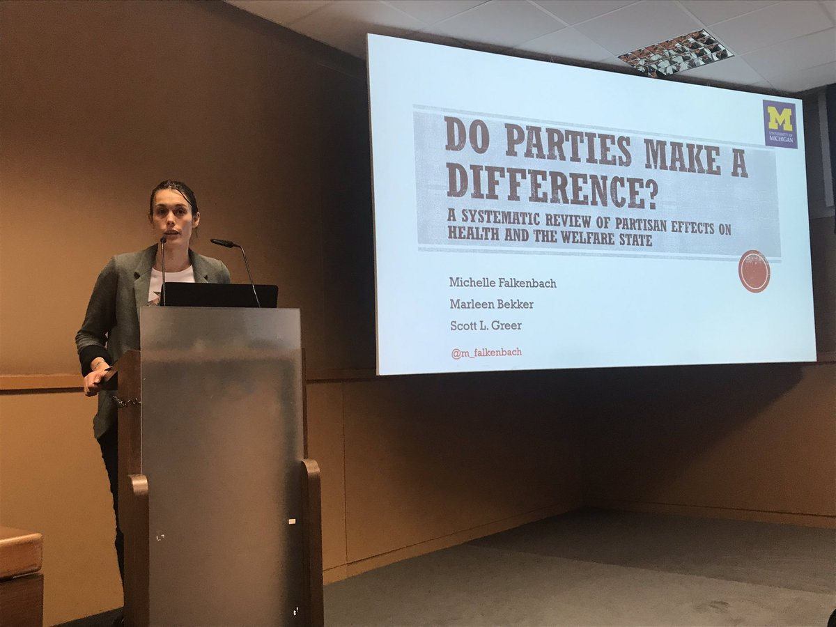 Do #parties make a difference in #health? @EPH_PHPPsection @EUPHActs