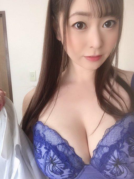 AV女優葵百合香のTwitter自撮りエロ画像6