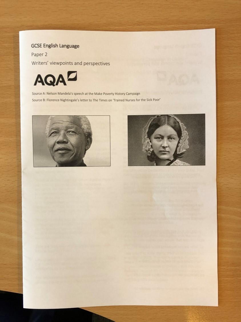 GCSE AQA English Language paper two booklet added >> douglaswise.co.uk/teaching-resou… #TeamEnglish