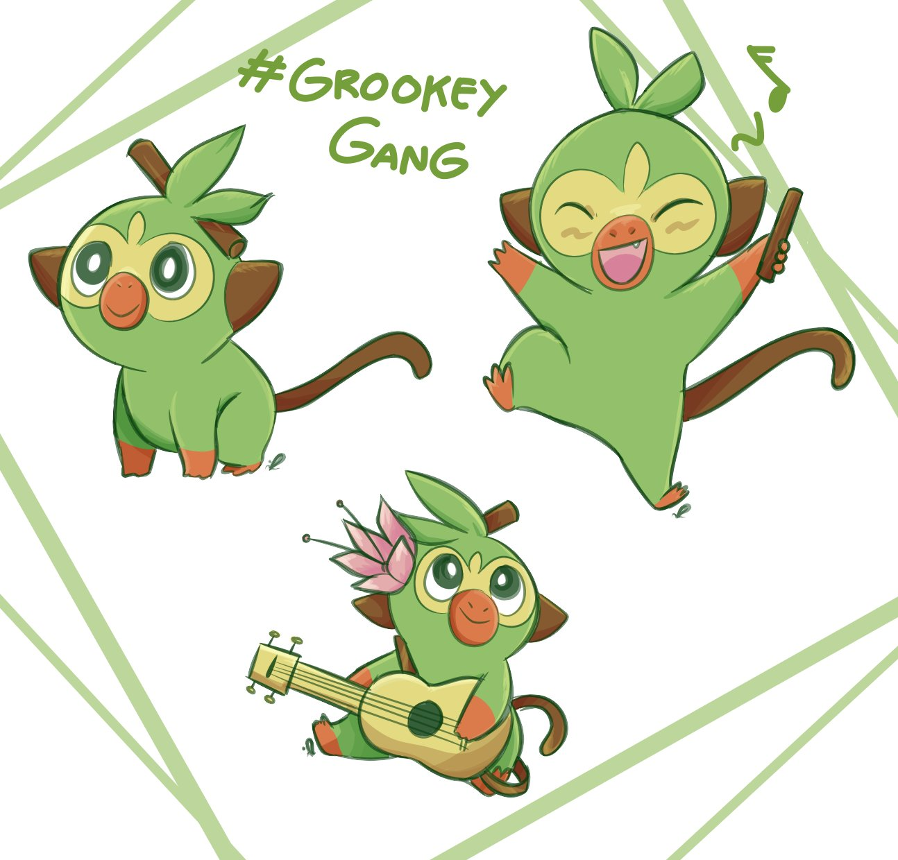 Fluor But Christmas On Twitter Gucci Gang But Instead Grookey Gang Pokemonswsh Pokemonswordandshield Pokemon Grookeygang Grookey gang where you at. twitter
