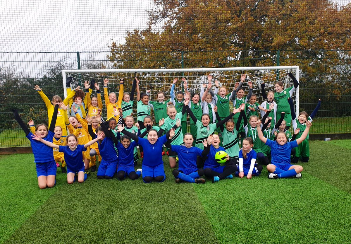 Well done to the 5 teams from MK who took part in the U10s introductory festival. Lots of smiles, despite the rainy weather. Looking forward to the next one in February 😃⚽️