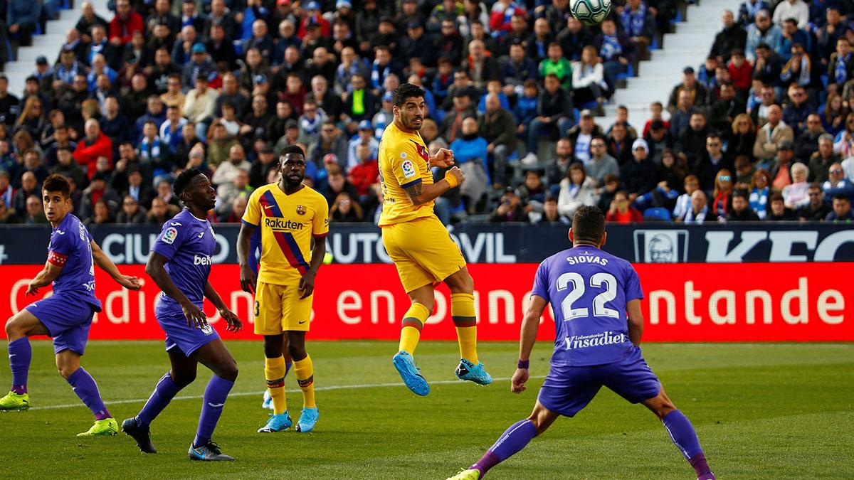 برشلونة يقلب الطاولة على ليغانيس ويواصل تصدره الدوري الاسباني