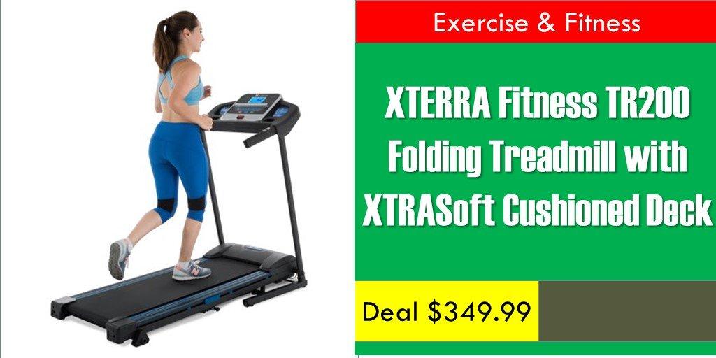 XTERRA Fitness TR200 Folding Treadmill with XTRASoft Cushioned Deck    https:// bit.ly/2QLz5u2      #treadmill #treadmills #treadmillrun #treadmillfun #treadmillruns #treadmilllife #treadmilltime #treadmilllove #treadmillwork #treadmillmurah #treadmillgoals #treadmilllover <br>http://pic.twitter.com/ODu6xoYAry