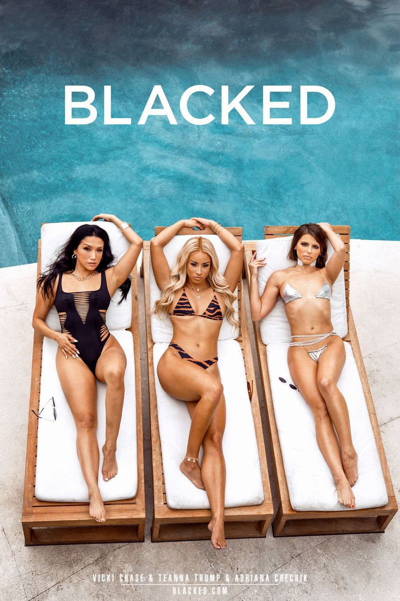 ICYMI - @vickichase @teannatrump @adrianachechik premiere on BLACKED this MONDAY! RT if you wanna see more! 💦 blked.co/badbitches