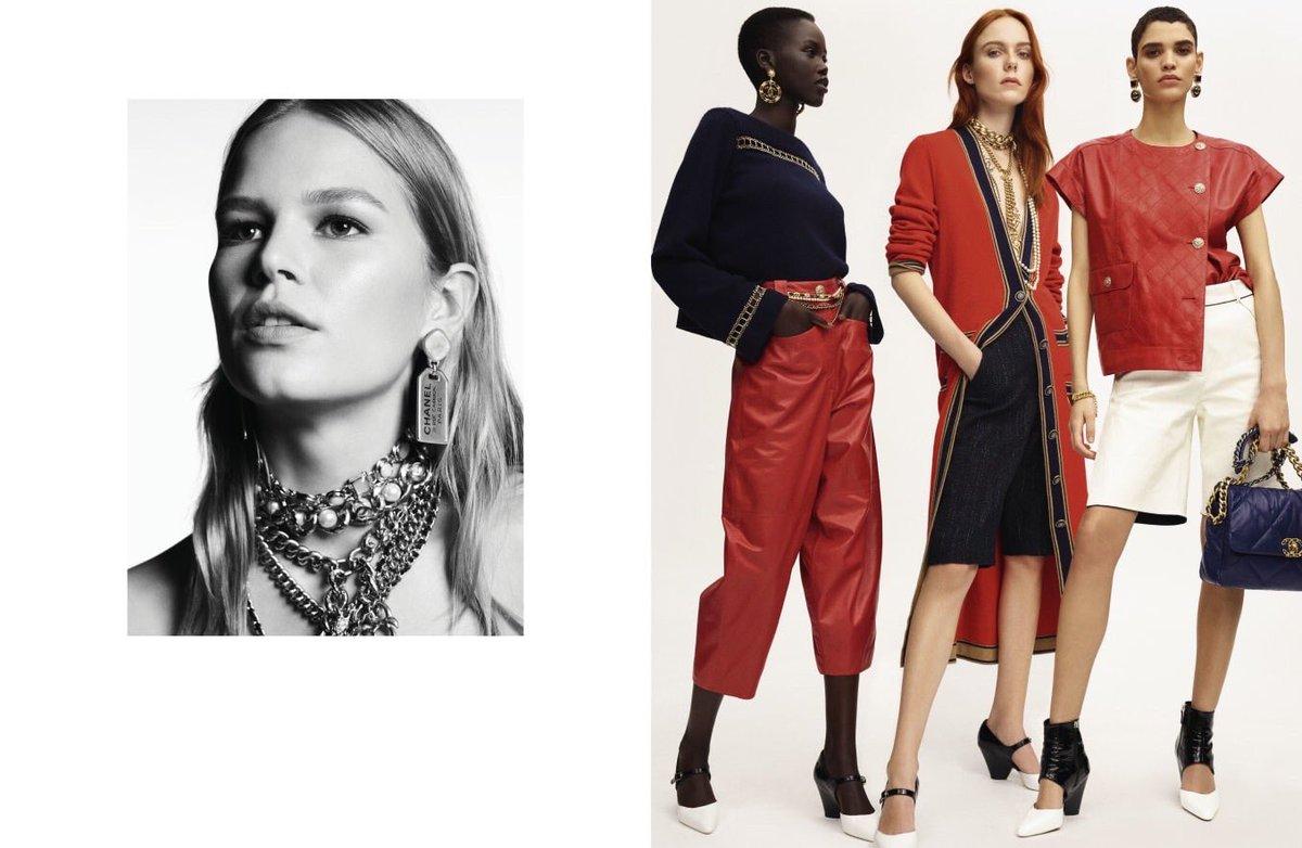 Campagne pour la collection #CHANELCruise 2019-20, imaginée par #VirginieViard et disponible en boutique #CHANEL et sur https://t.co/Tl4kgzsjHX #DestinationCHANEL 👉 https://t.co/D1Kctf3DPO L'héritage de Coco Chanel #espritdegabrielle https://t.co/9cpPNsVicQ