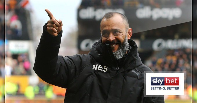 """""""Playing in the Europa League will hurt the team!"""" 🙄  Unbeaten in 8 Premier League games. ✅ 3 wins in Europe, second in their group. 🌍 Fifth in the Premier League. 💪  Nuno Espírito Santo. Take a bow. 👏🙌 #WWFC"""