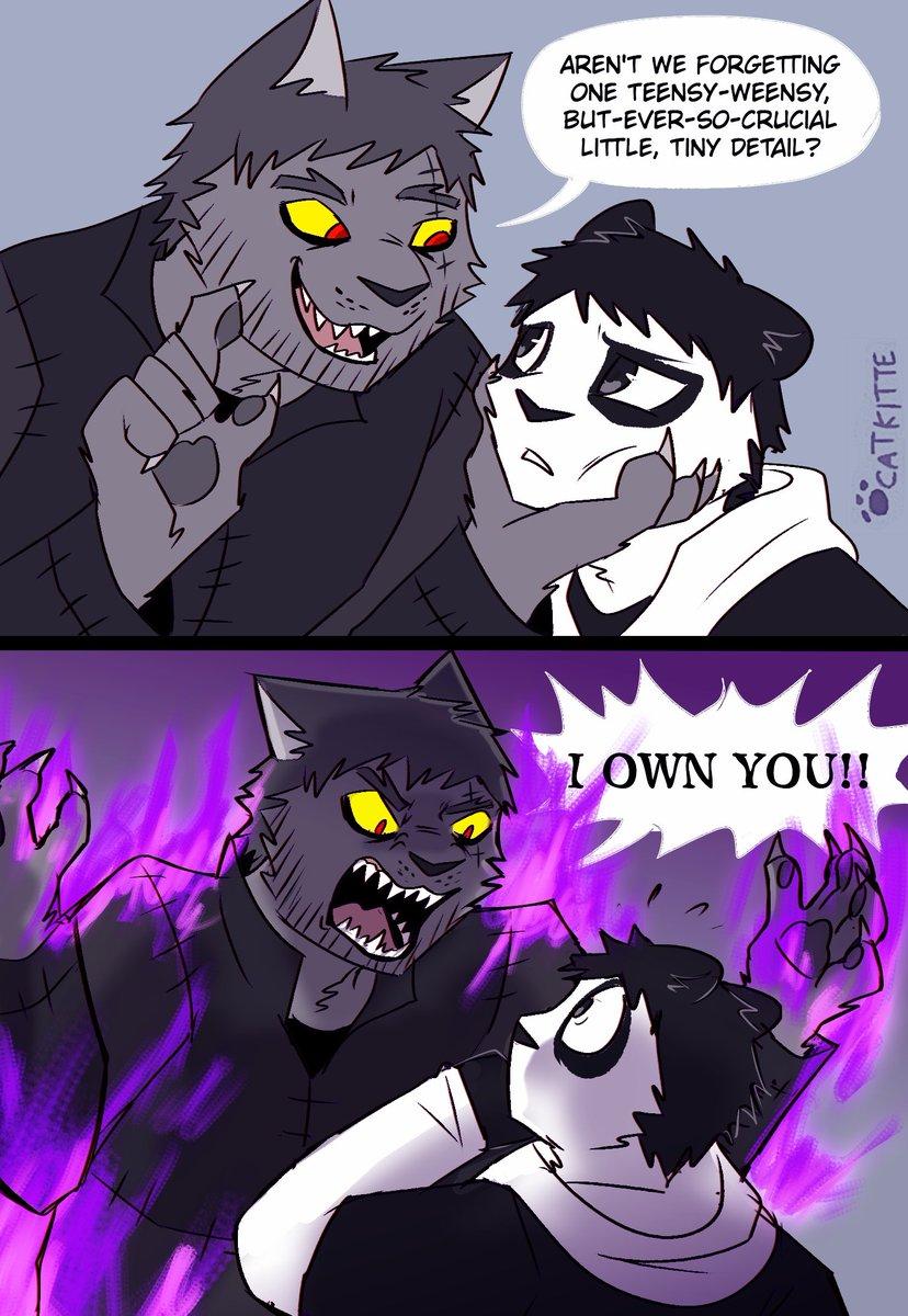 Catkitte On Twitter When Panda Disobeys Ugly Cat Comic