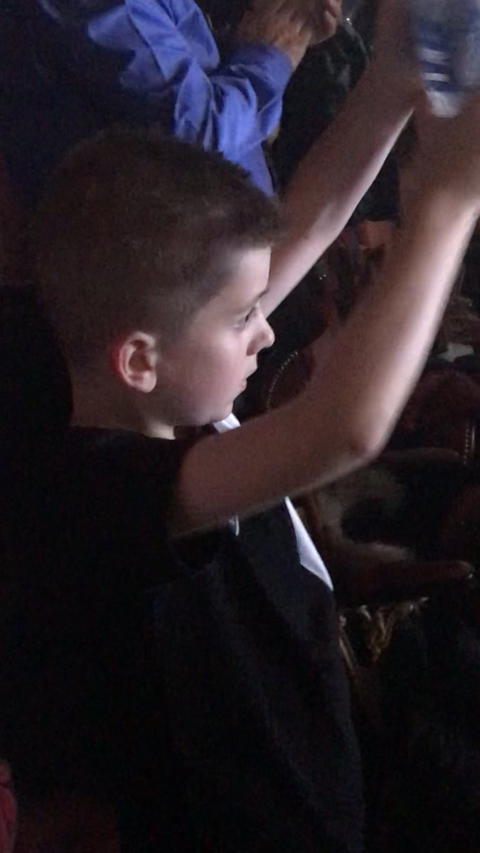 @Diversity_Tweet wow wow wow. That was so powerful. Such emotion from each of you tonight on that stage. @AshleyBanjo the talent to share such a story - your a true inspiration. My son was in the isle clapping for you - fan for life. Keep being you!!!!! #nevergiveuponyourdreams