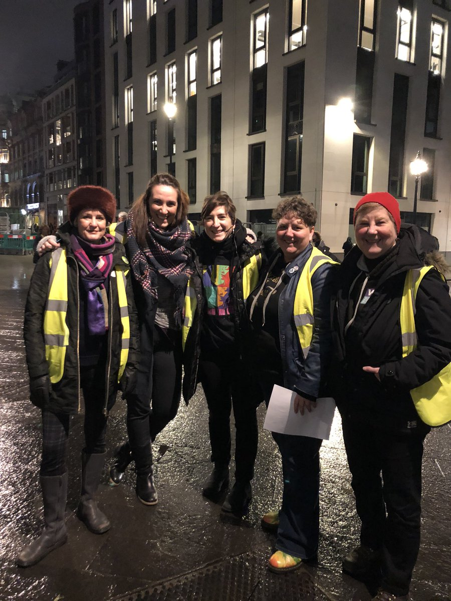 Ready to make lots of noise for Reclaim the Night London with @WEP_UK @RtnLondon Power to the women! #EndVAWG