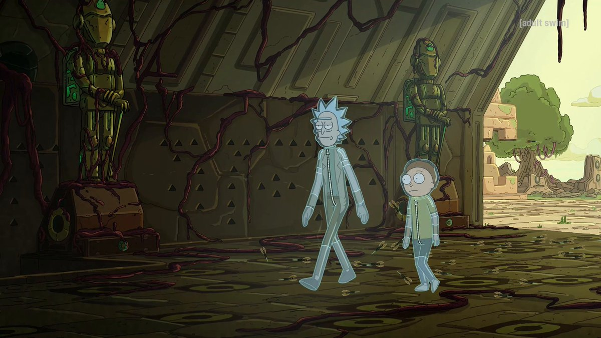 Two booby trap suits fresh never frozen. Watch a new episode of #RickAndMorty Sundays at 11:30p. @wendys #ad