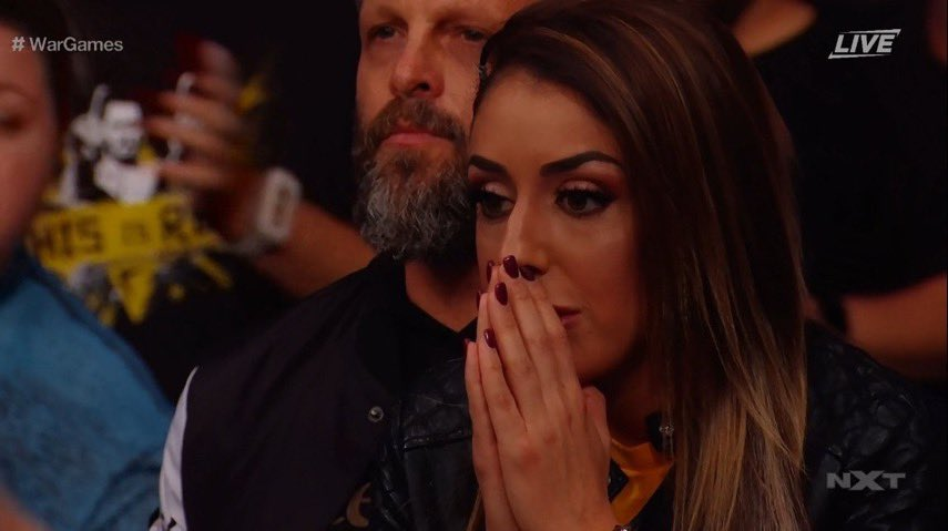 AEW Star Britt Baker Acknowledged During WWE NXT Takeover (Photo)