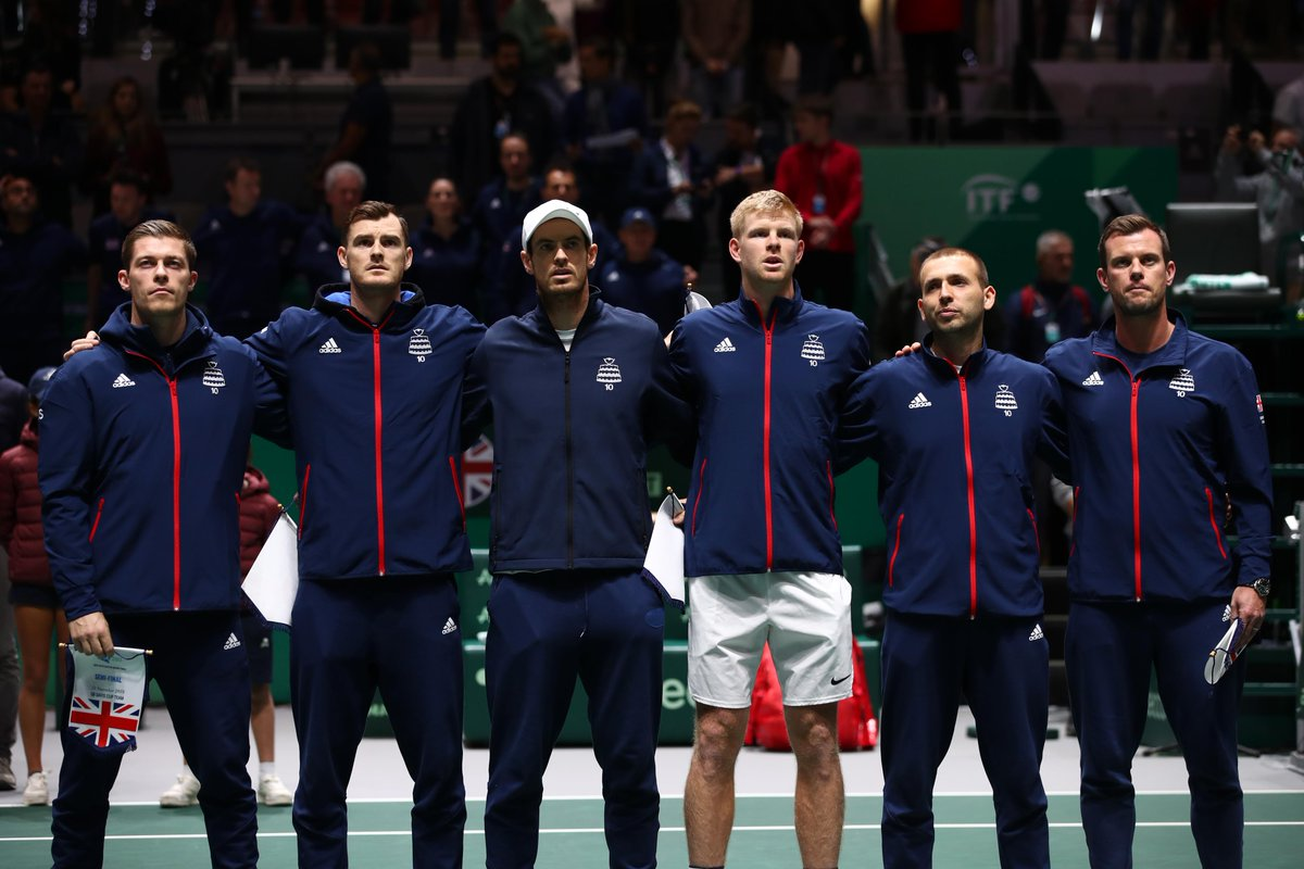 But what about this team! What a run it has been at the 2019 @DavisCupFinals 👏  Thanks for all your support #BackTheBrits 🇬🇧 https://t.co/0rY7HIsPSF