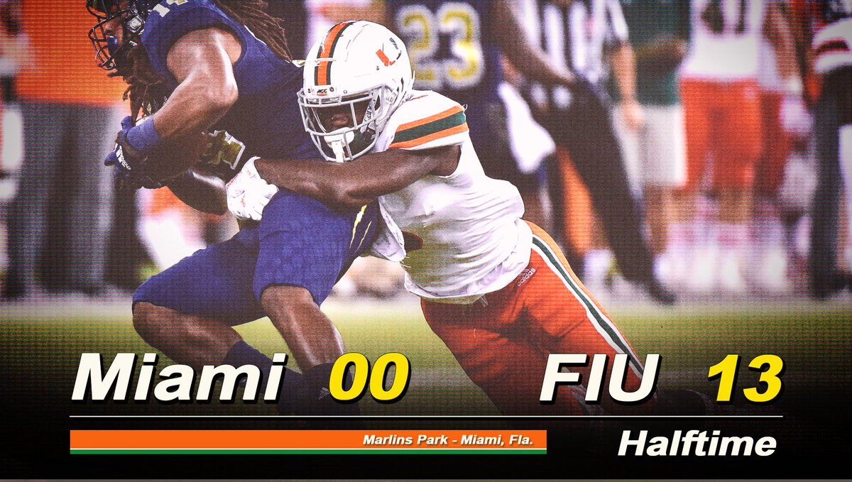 Miami Fans Are Freaking Out About The Halftime Score vs. FIU