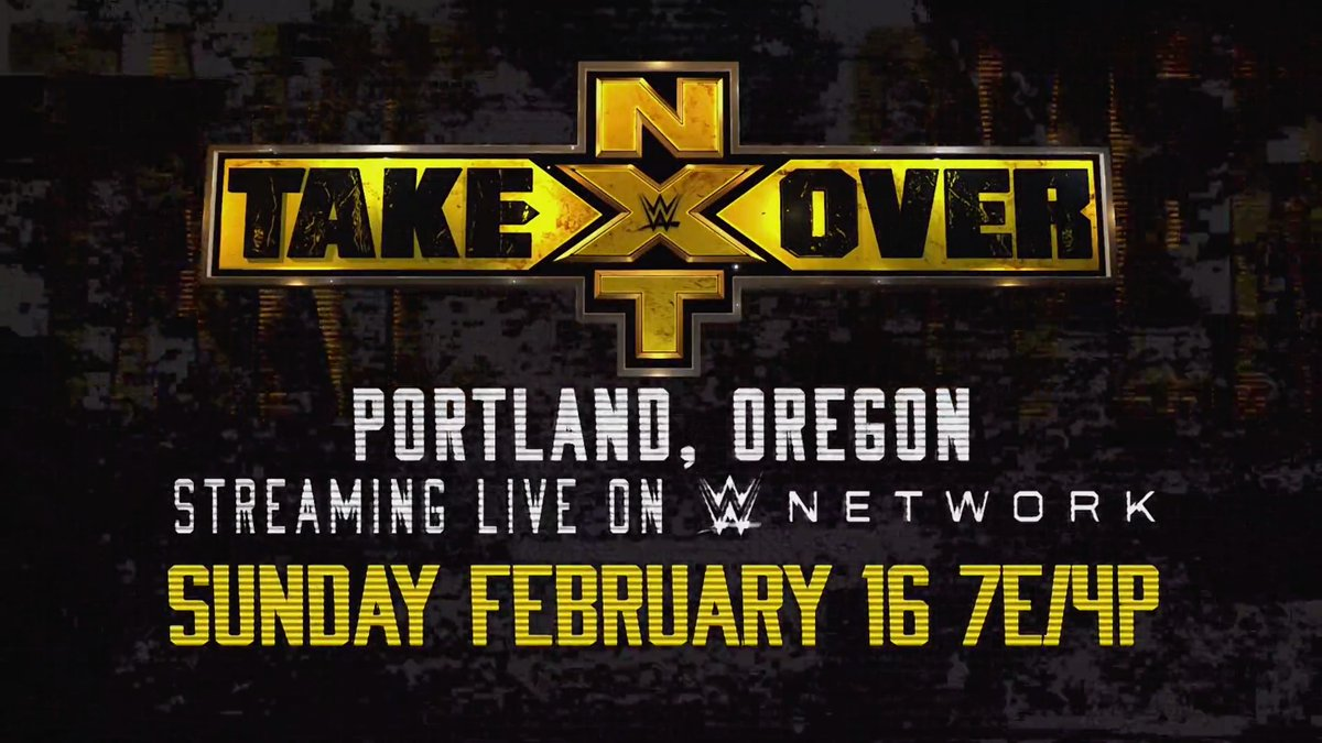 """WWE NXT """"Takeover: Portland"""" Event Announced"""