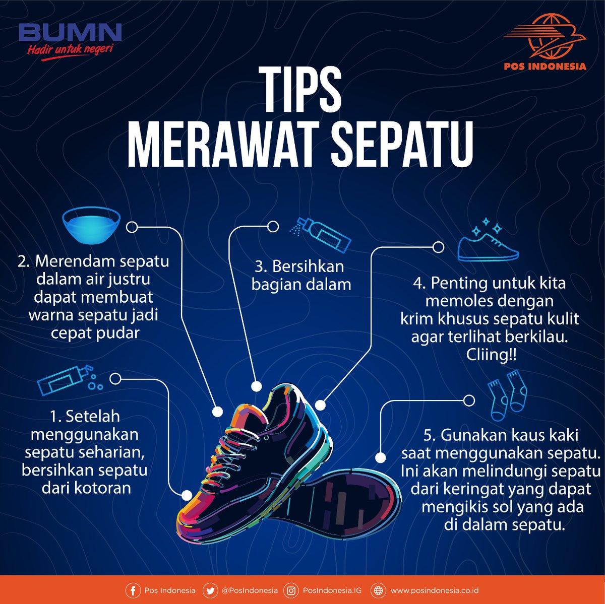 Pos Indonesia On Twitter Minggu Pagi Waktunya Mempersiapkan Semua Yang Dibutuhkan Untuk Senin Termasuk Sepatu Kamu Ga Mau Kan Sepatu Yang Dipakai Kucel Dan Ga Enak Dipandang Nah Minpos Mau Kasih Tips