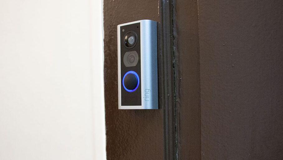 ring door view cam judas connecté test avis installation sécurité appartement