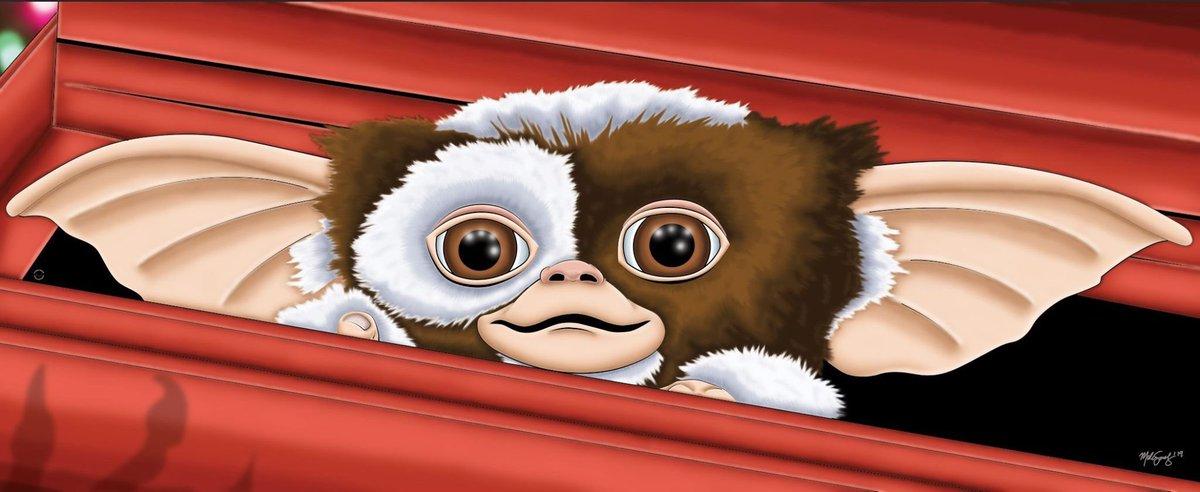 Day 30: Gremlins. #art #MelissaSanchezArt #OctoberHorrorMovieMarathon #OHMM19 #Gremlins #Gizmo #mogwai #BabyYoda #october #inktober #halloween #drawlloween #horror #HorrorArt #HorrorMovies #illustration #fanart #artistsontwitter https://t.co/uXjjzn55px