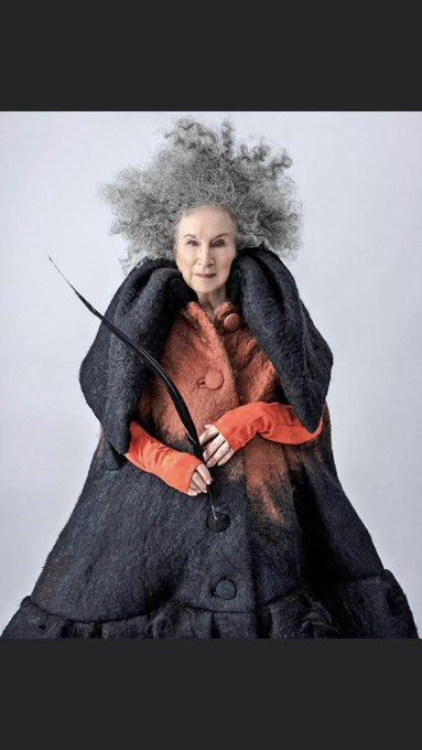 Happy 80th Birthday Margaret Atwood !