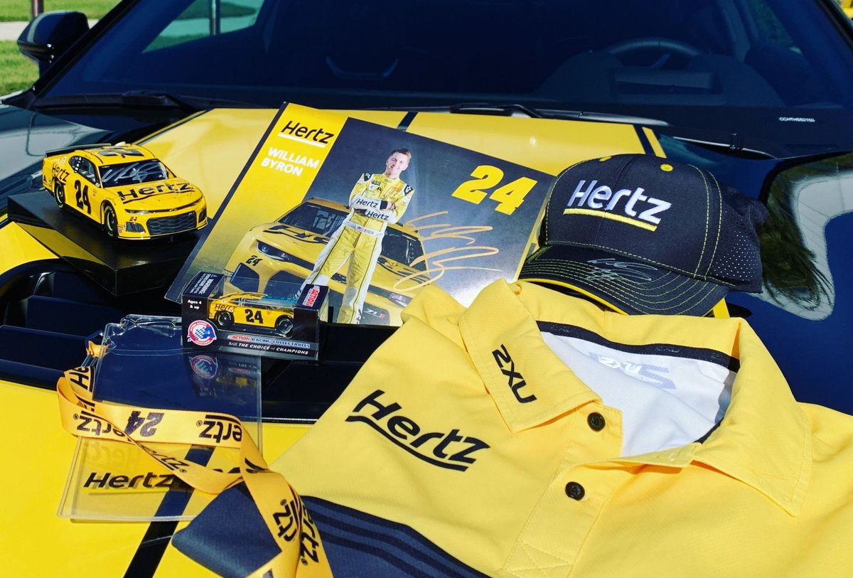 🚨 GIVEAWAY 🚨  Retweet & follow for a chance to win our biggest #Hertz24 prize pack yet, including a @WilliamByron signed diecast, hat & hero card. @Hendrick24Team @TeamHendrick @NASCAR  NoPurchNec; 18+; VoidWhereProhib; Ends 11/24 11:59 PM ET;Rules: