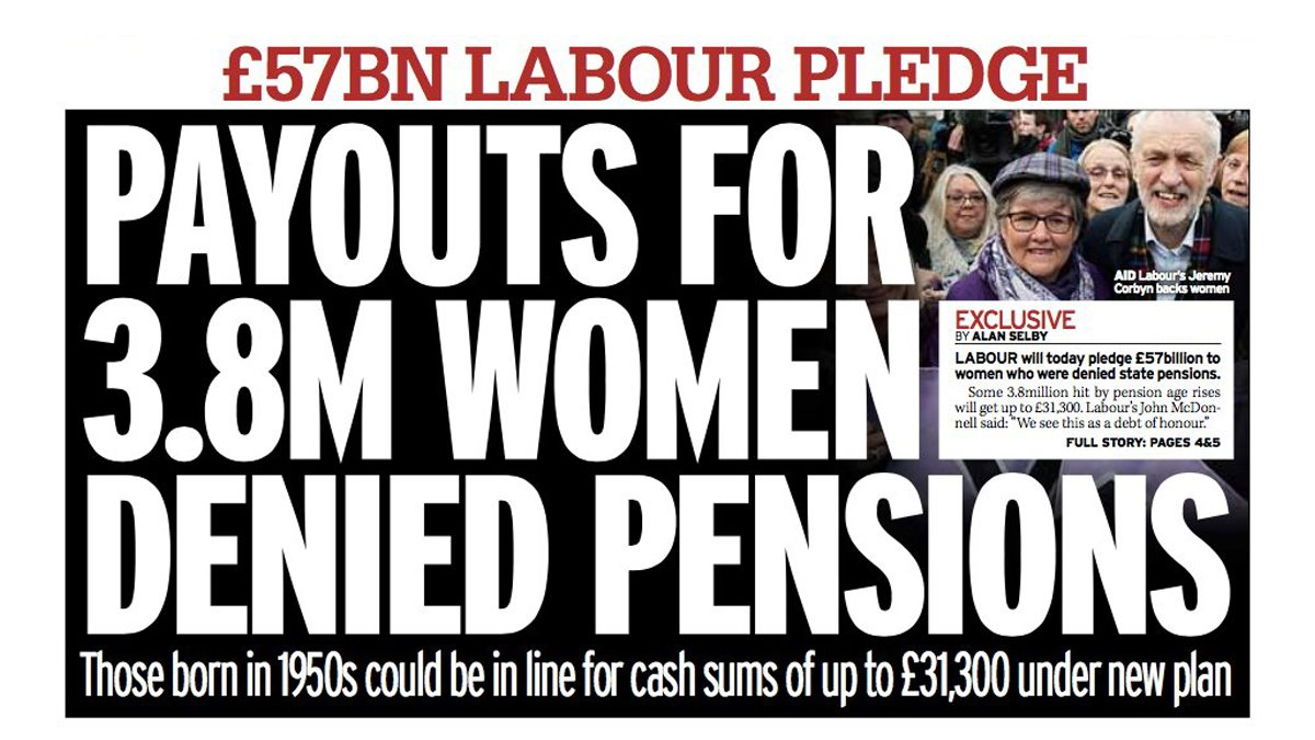 Stories that I've heard around the country from women born in the 1950s who have been unfairly hit by the Tory rise in the state pension age have been heartrending. We will compensate them. This is about making sure people get justice.