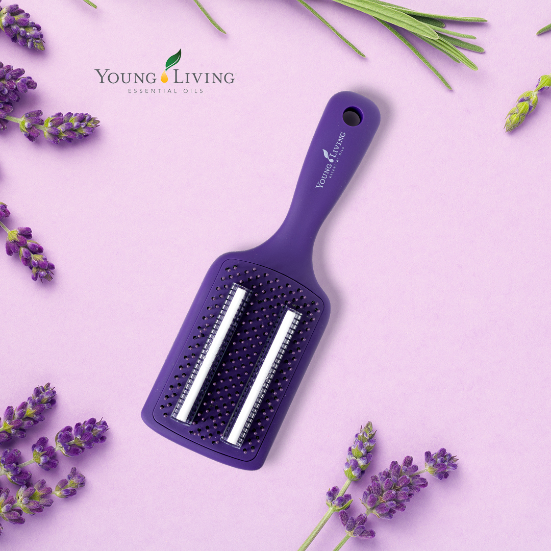 Young Living Essential Oils Europe On Twitter Want Some Tips On How To Use Our Oil Infused Hairbrush Just Drop Some Essential Oils You Love Onto The Two Supplied Strips Easily