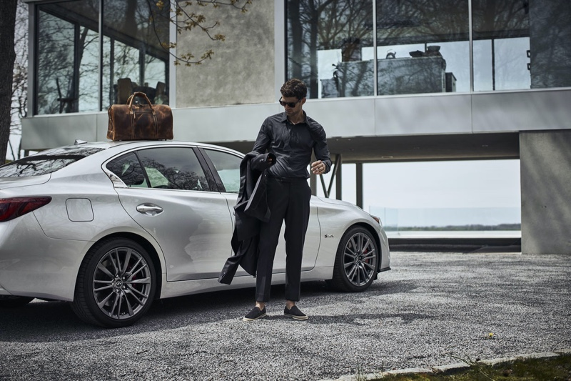 Max Jablonsky Lives in Luxury for #Infiniti Campaign @INFINITIUSA thefash.co/xuXFua