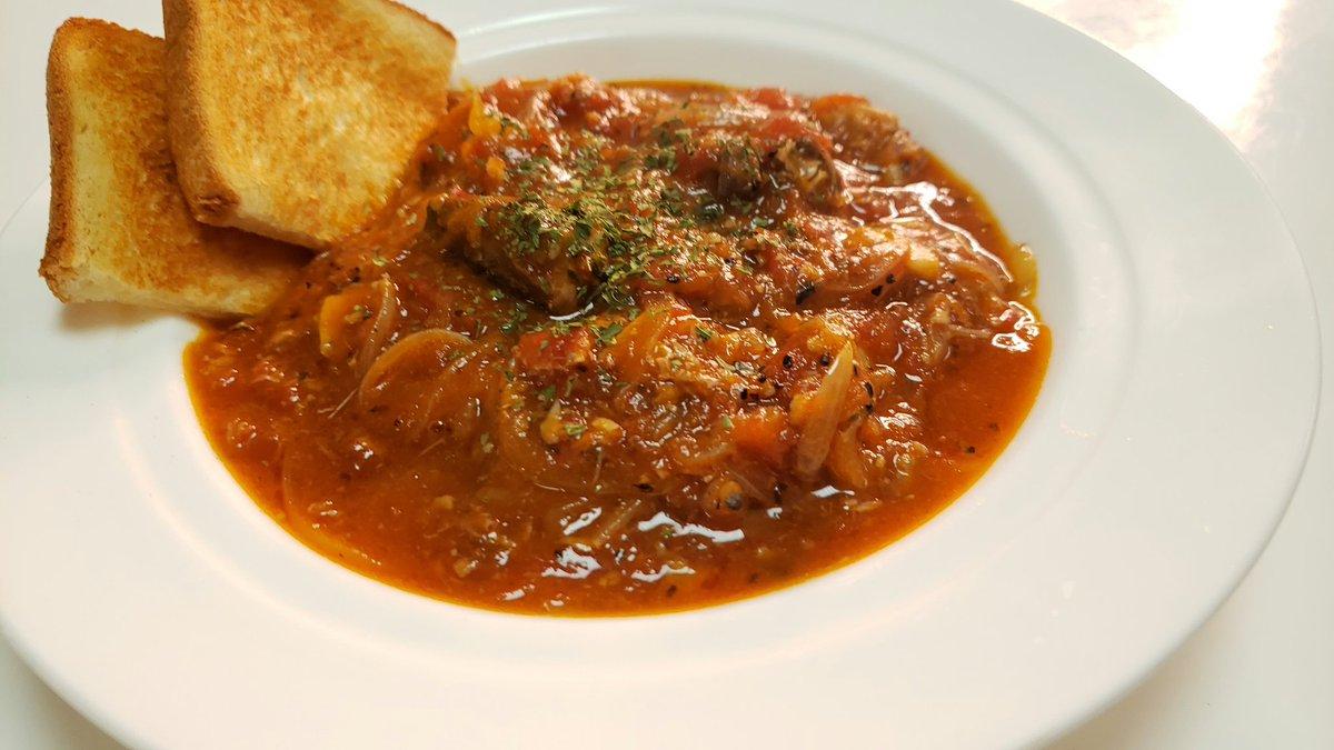 【レシピ】『サバ缶ブイヤベース』汁ごと入れた鯖缶が、まるで本格地中海料理のような深い味わいになります!