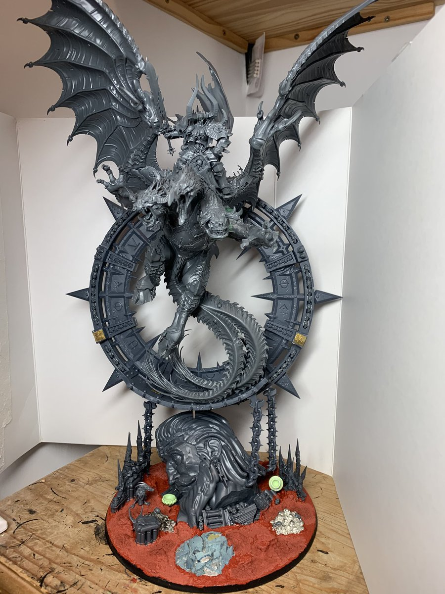 Everchosen Archaon Exhalted Grand Marshal of the Apocolypse Warhammer AOS