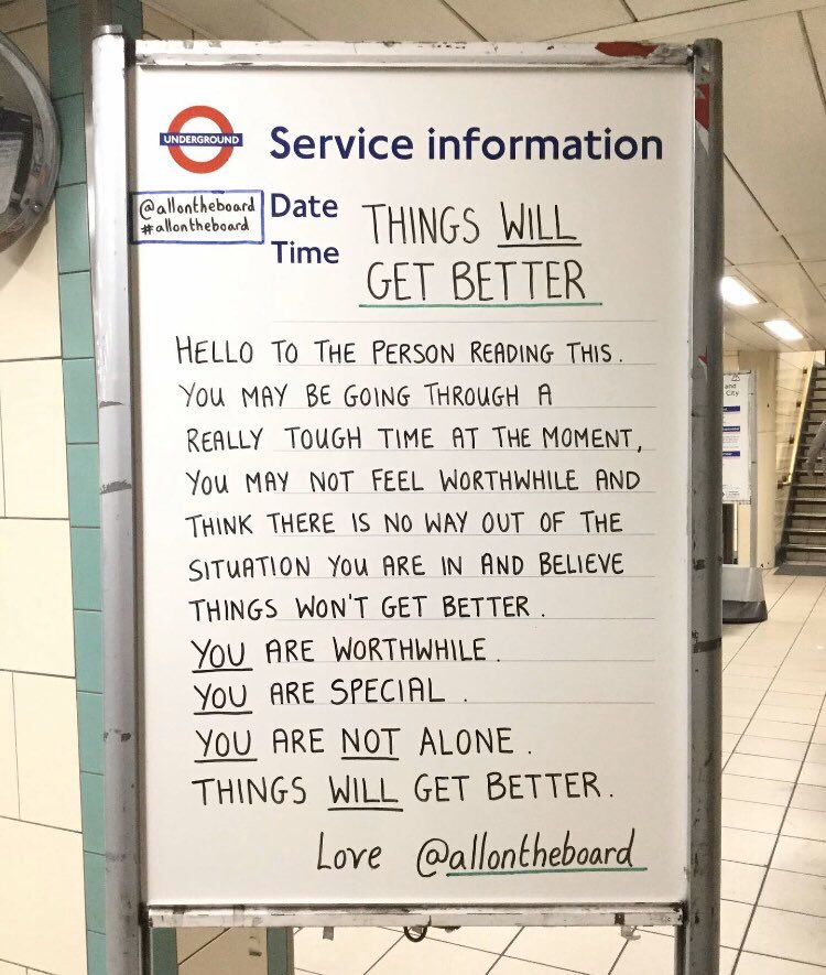 YOU are worthwhile. YOU are special. YOU are not alone. Things WILL get better. The World is a much better place with YOU in it. @allontheboard #You #YouMatter #MentalHealth #MentalHealthMatters #MentalHealthAwareness #Talk #ThingsWillGetBetter #allontheboard