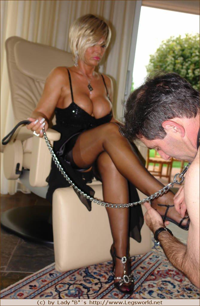 Mistress lady barbara tits