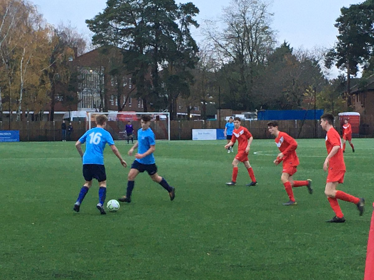 FT and it's ended 0-0 here against @SomersetFA with both teams taking a point each for their efforts this afternoon in the South West Counties Championship. Well done to both teams and thank you to @BracknellTownFC
