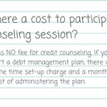 Image for the Tweet beginning: Get more of your #creditcounseling