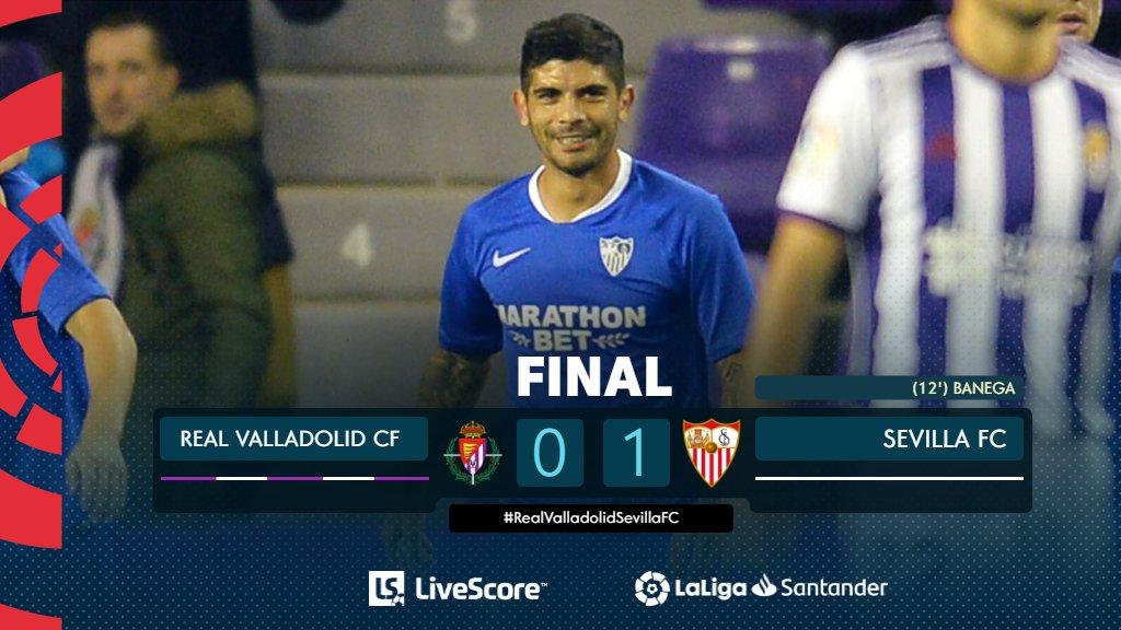 Liga : le FC Séville s'impose à Valladolid