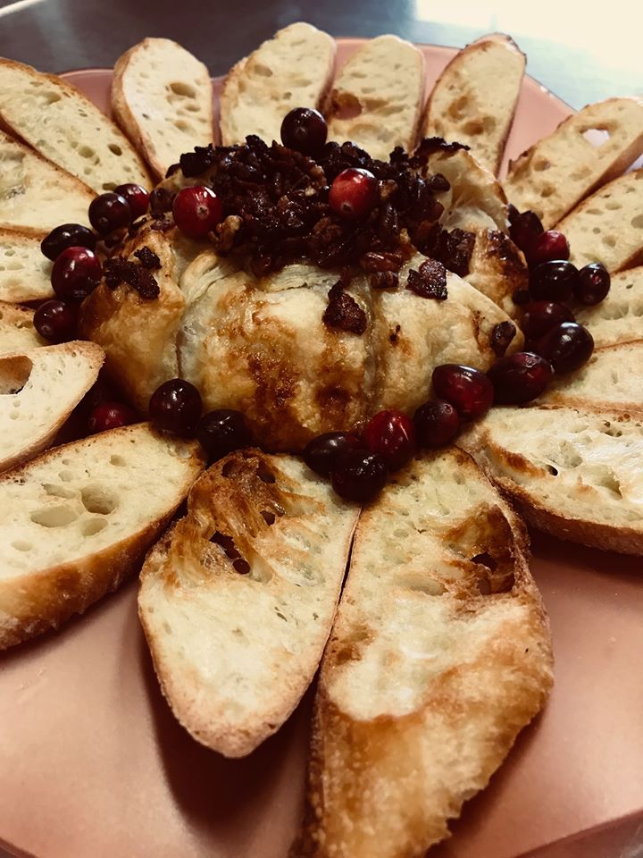 Todays recipe is maple bacon baked brie! #ACoastGuardThanksGiving Head over to Facebook to see the recipe: ow.ly/PMoF50xjd5o