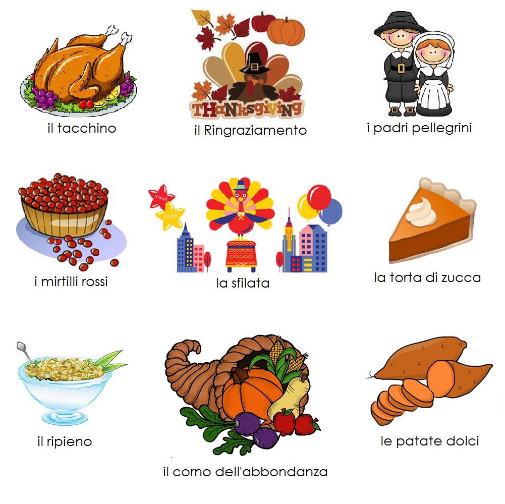 Thanksgiving is right around the corner! #osdia #italianvocab