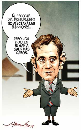 #MonerosLaJornada No se puede todo, cartón de @monerohernandez http://bit.ly/2OgwvdS