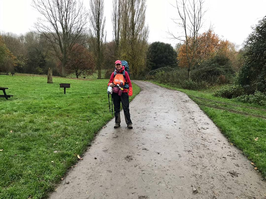 A tough walk today from #Gloucester to #Painswick nr #Stroud for various reasons. Headache, steep & slippy mud tracks, poor signage...       #uksar #walking #charitywalk #charitycoastalwalk #BethFootForward
