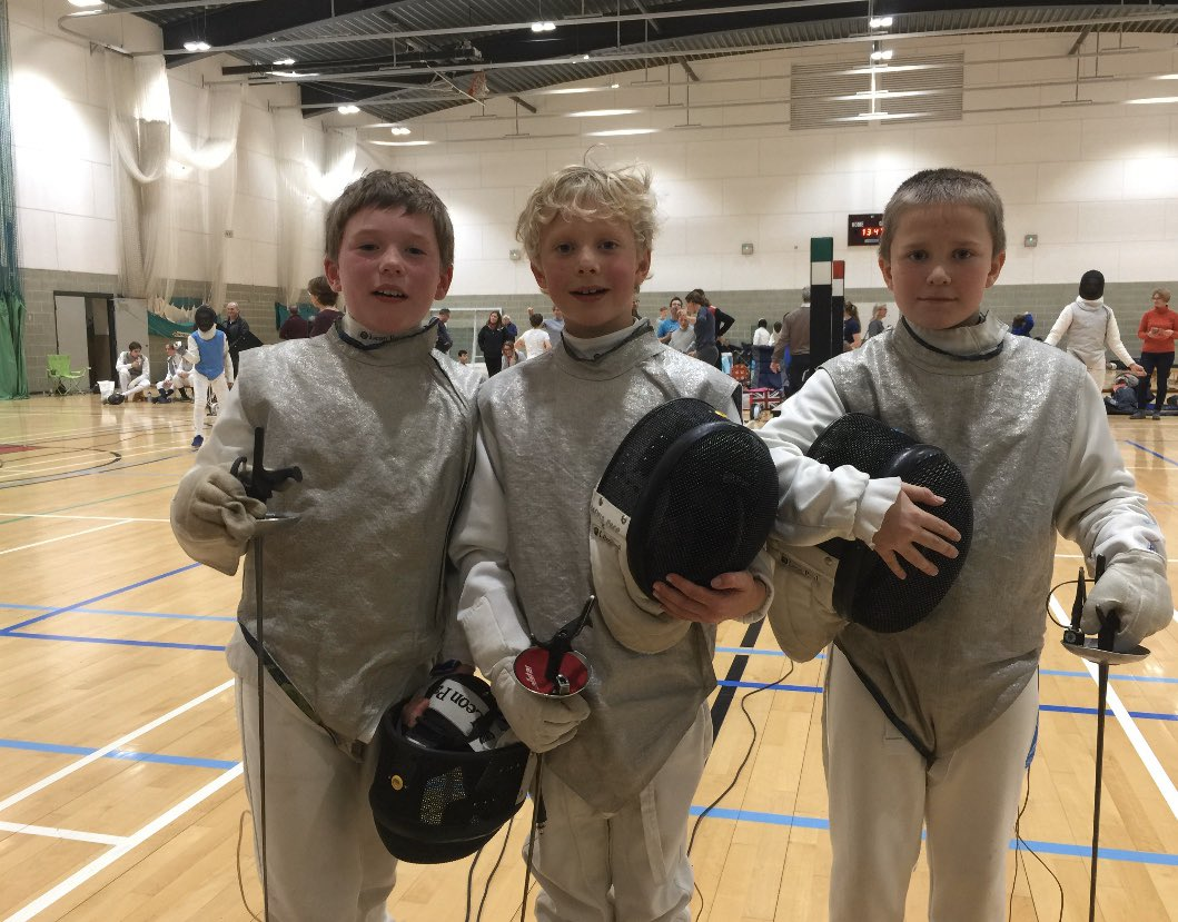 Congratulations to our under 10 Boys foil! Freddie, Max and Hunter brining back two bronze medals and a fifth place from wycliffe and taking another small step on their sporting journey #millfieldway #fencingfamily. And thank you again to Jake and Lauren for their help today pic.twitter.com/srODe4U7i0