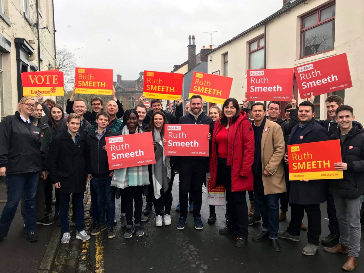 Had a lovely Sunday canvassing with incredible comrades for a hero of our movement. @RuthSmeeth has been a phenomenal Labour MP for Stoke-on-Trent North and Kidsgrove. Re-elect Ruth on December 12th ✊️🌹