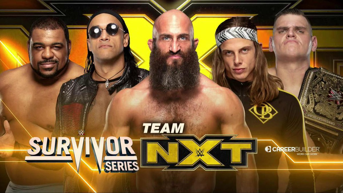 Team NXT Members Revealed For Survivor Series Match