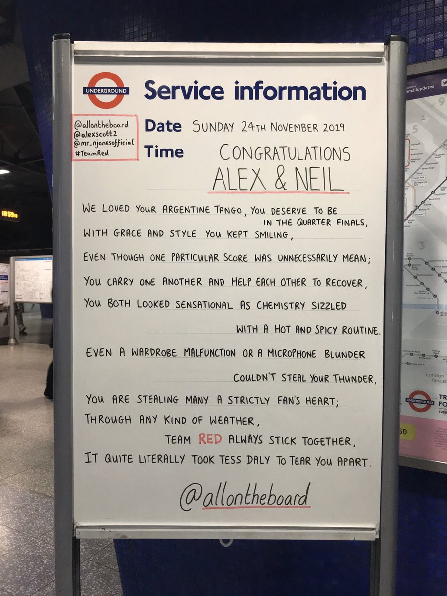 Congratulations @AlexScott and @Mr_NJones for getting through to the next round. Come on Team Red. @allontheboard #AlexScott #NeilJones #TeamRed #AlexandNeil #Strictly #SCD #StrictlyComeDancing #allontheboard