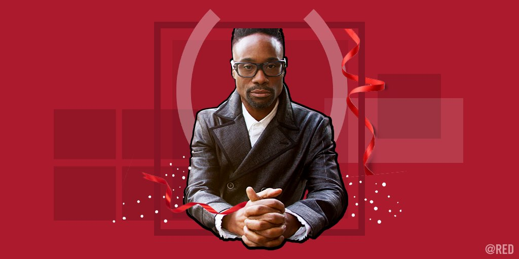 Looking for a holiday gift for the person who has EVERYTHING?! We got you covered. Book a personalized shoutout from @theebillyporter & 100% of his @bookcameo proceeds will be donated to @REDs fight to #endAIDS. cameo.com/theebillyporter #SHOPATHON