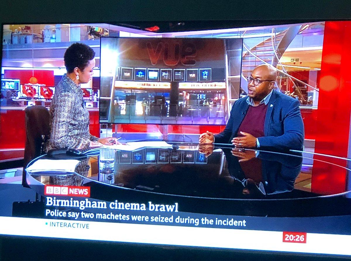 Watched @LukwesaBurak talking to @umarkankiya of @dopeblackdads on @BBCNews, following the decision by @vuecinemas to ban @RealRapman film #BlueStory @BlueStoryMovie. #NoBlueNoVue