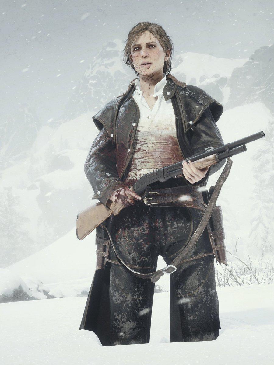 Sadie // Red Dead Redemption 2 (PC photo mode)