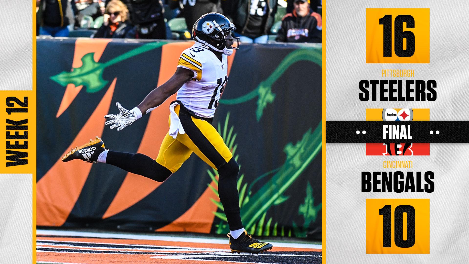 Pittsburgh Steelers On Twitter A Win In Cincinnati