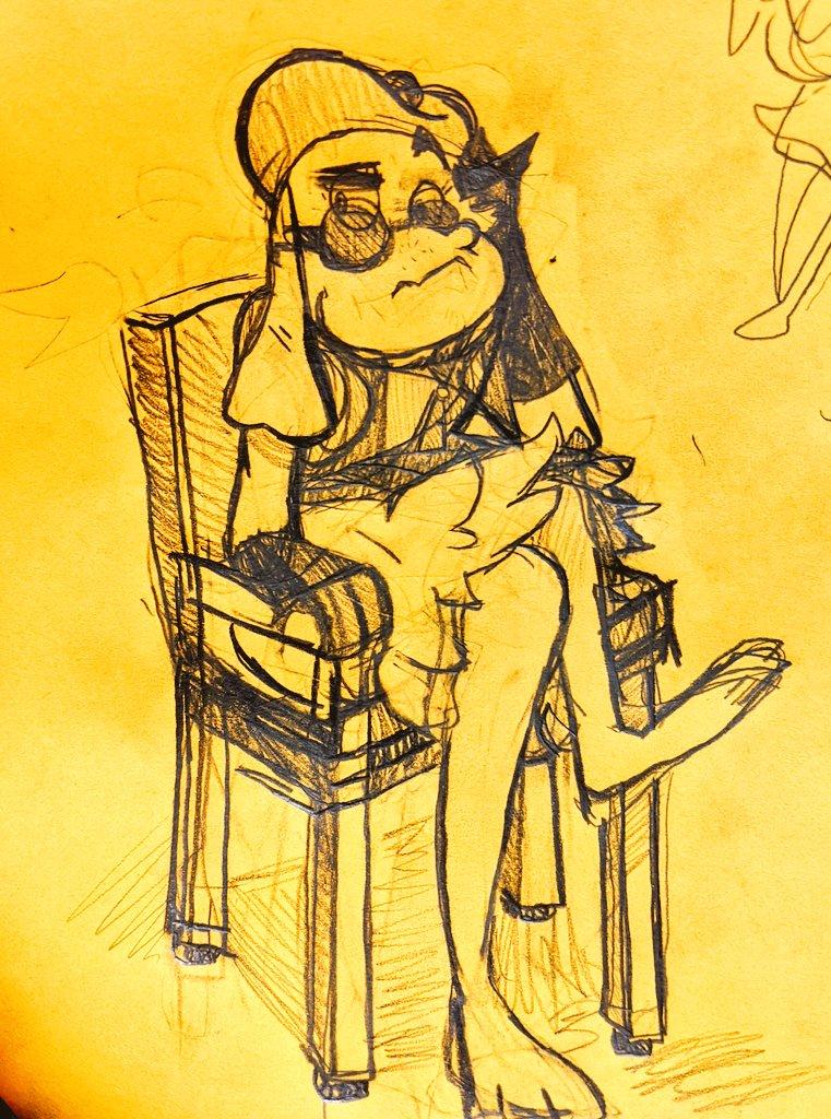 Perpetual state of knife cat   #gluntz #GreenEggsAndHam #sketchbook https://t.co/apdWi7Eiq2