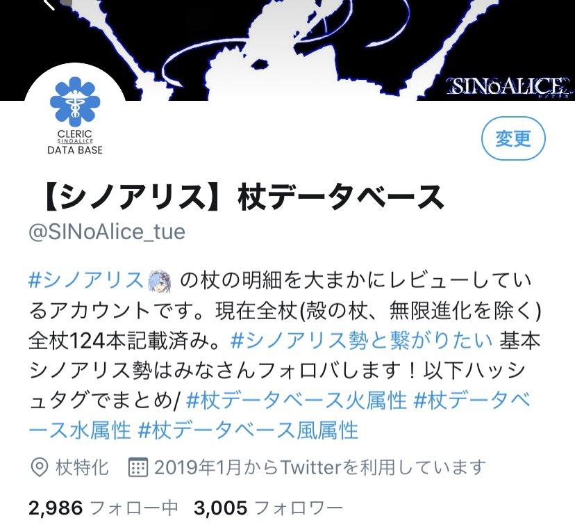 シノアリス データベース